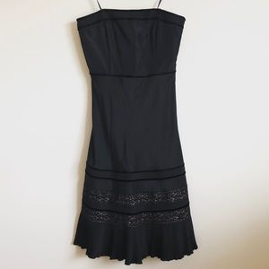 LOFT! Lace/Ruffled Detailed Dress!